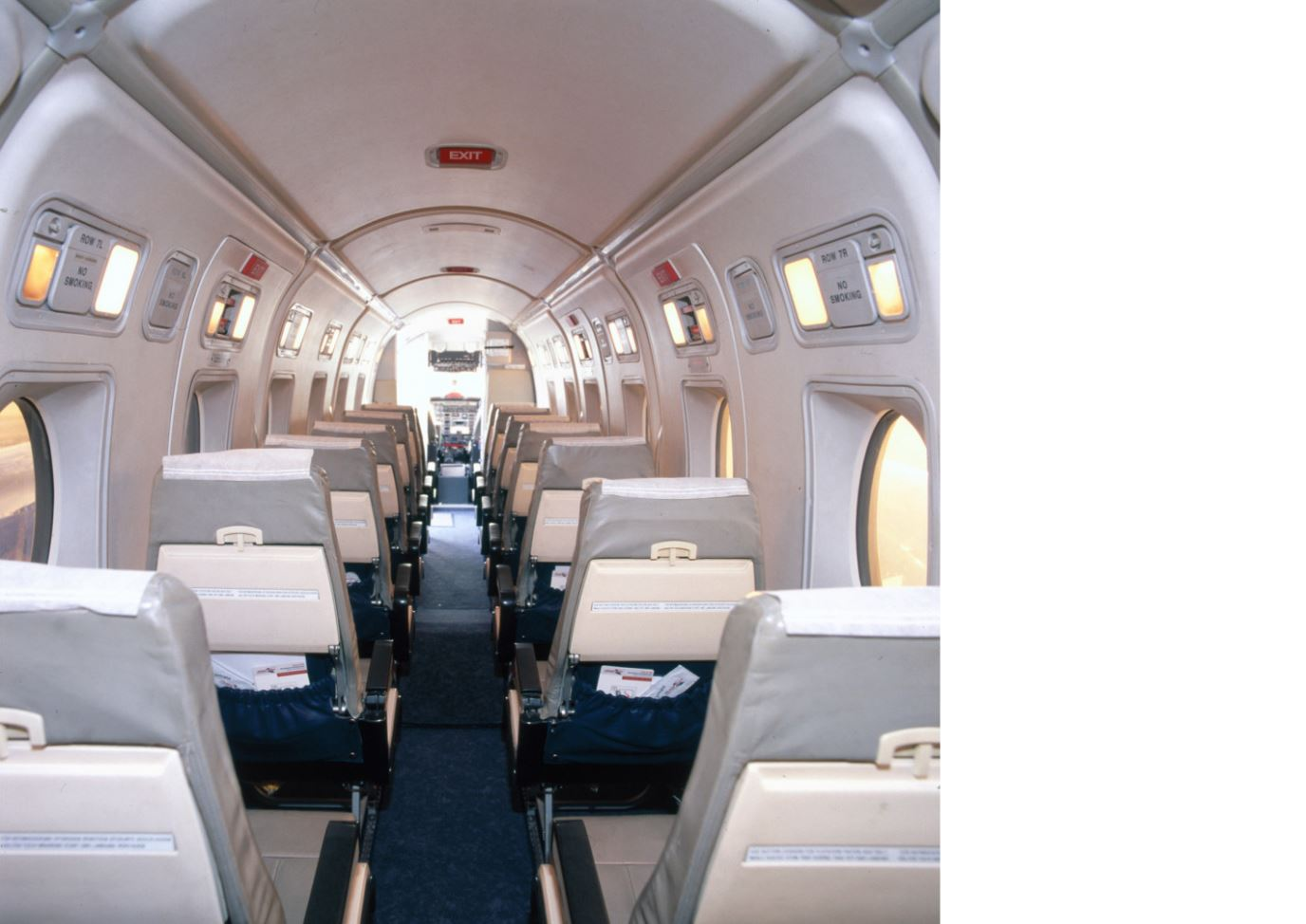 Beech 1900D interior picture