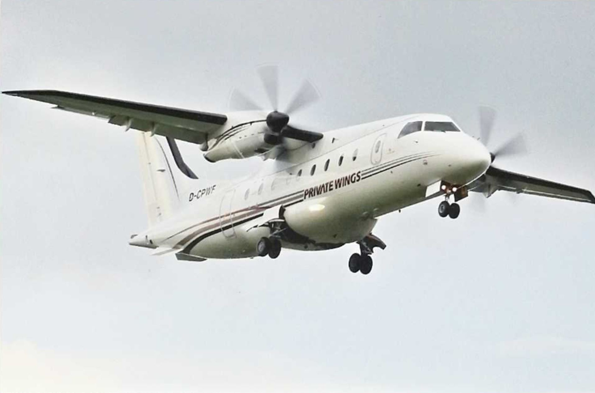 Our first Dornier 328-100 Prop D-CPWF