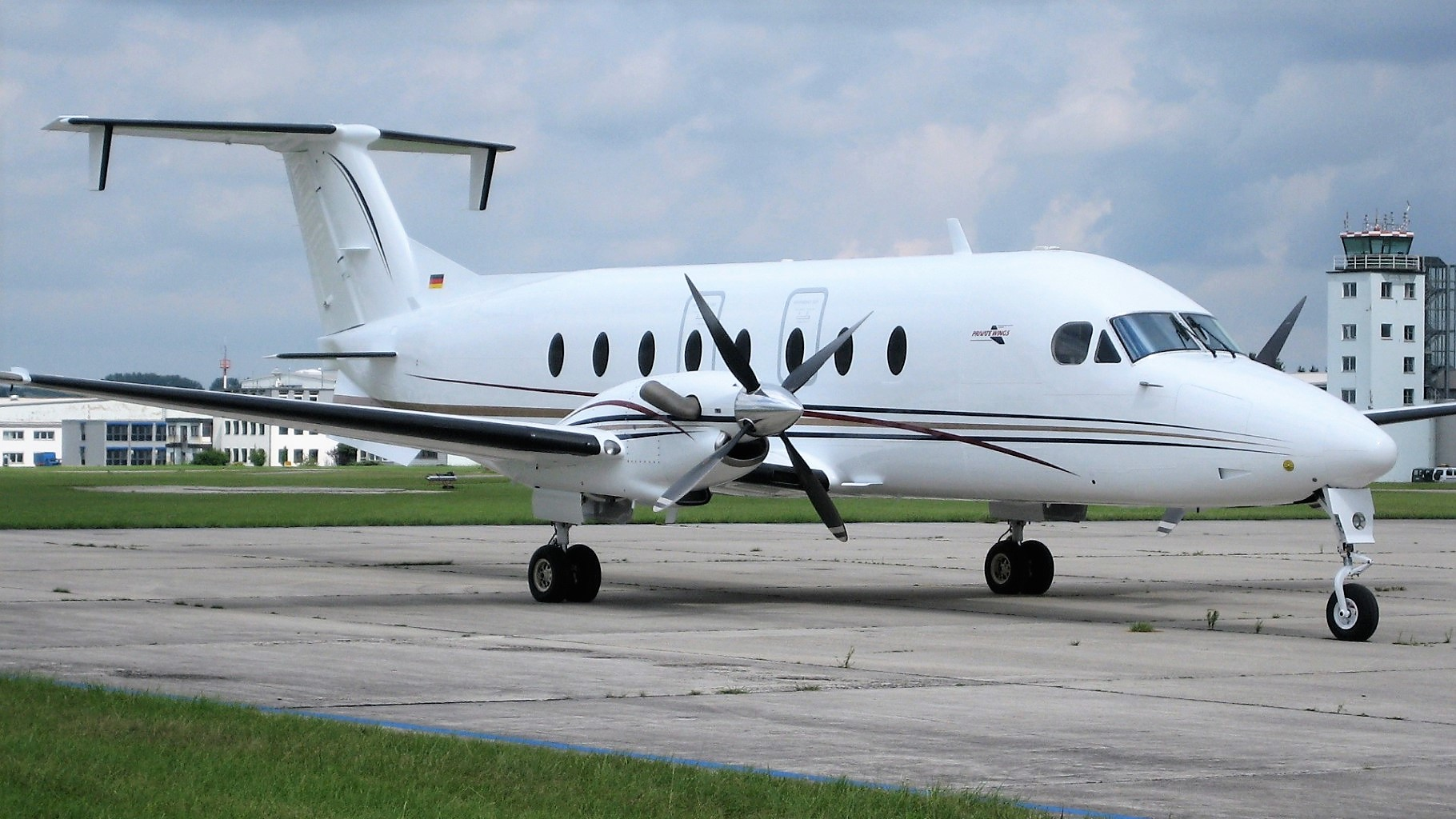 business jet Beech 1900D from Private Wings